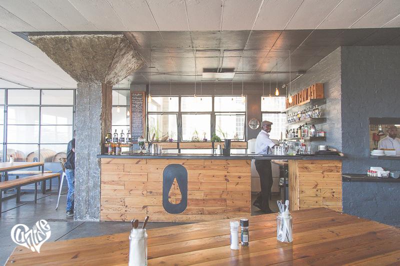 Cocktail bar at Distillery 031