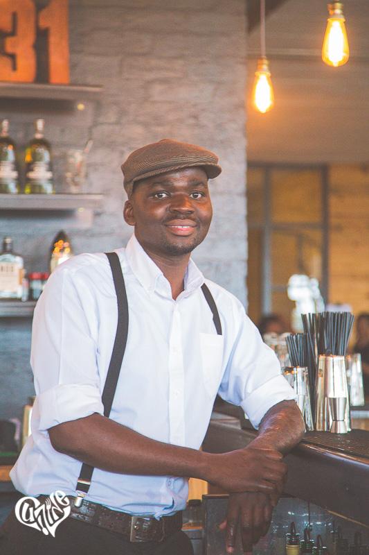 Bartender at Distillery 031