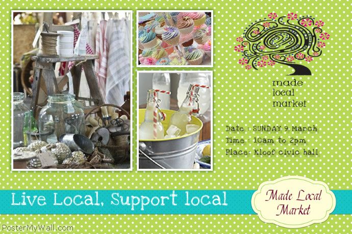 mADE LOCAL MARKET 9 MARCH