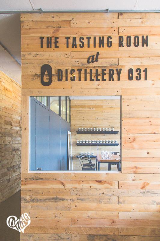 Distillery 031 tasting room