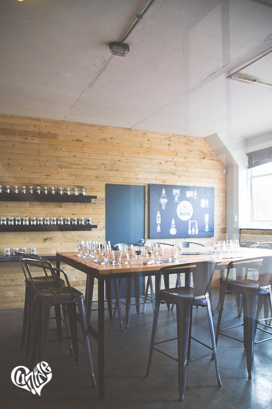 Distillery 031 tasting room and tasting tour
