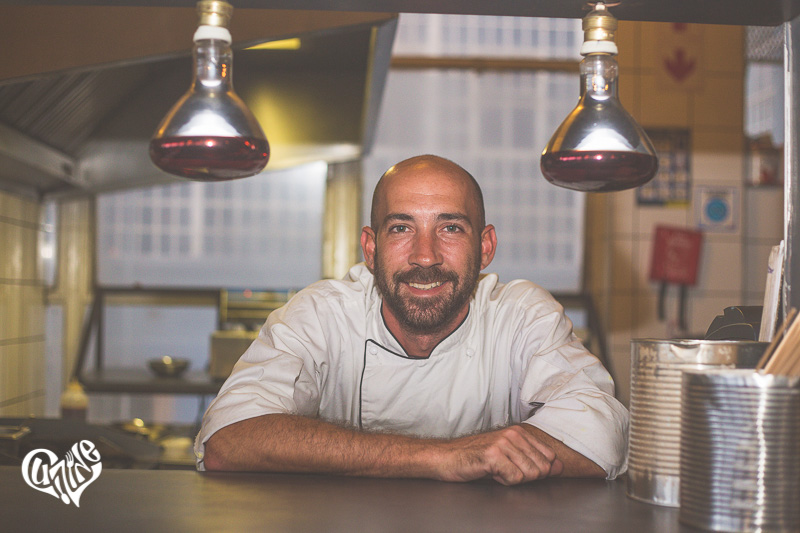 Jordan Semple, Head Chef at Distillery 031
